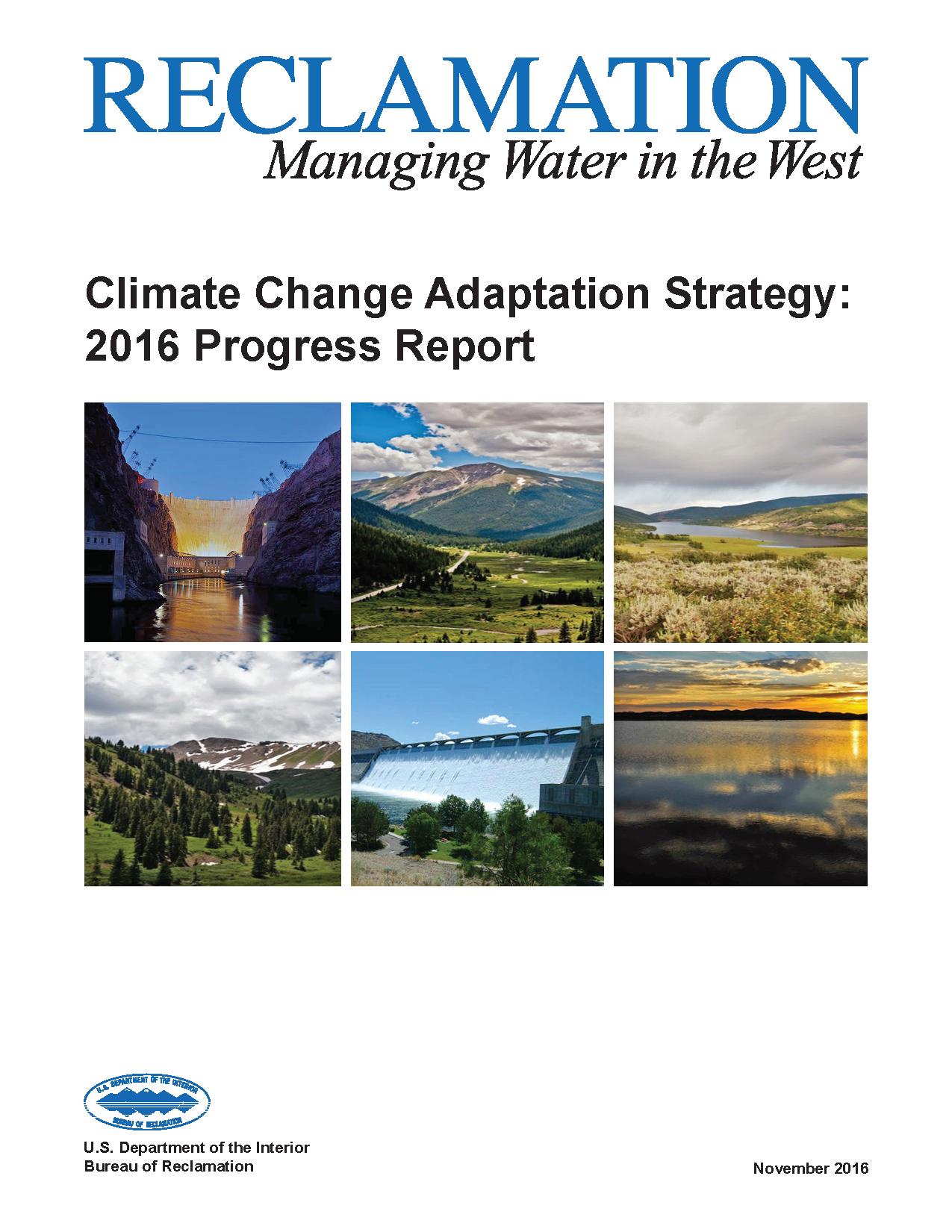 Climate Change Adaptation Strategy Progress Report
