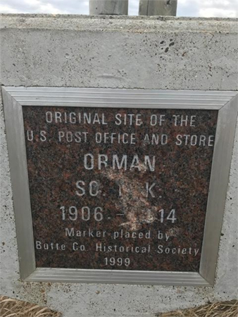 Butte County Historical Society monument vandalism