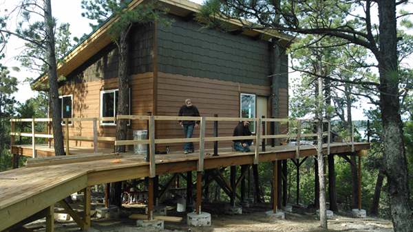 Co Op Agreement Brings New Treehouse Cabin Rental To Keyhole State Park