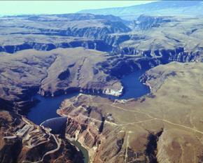 Yellowtail Dam, Montana