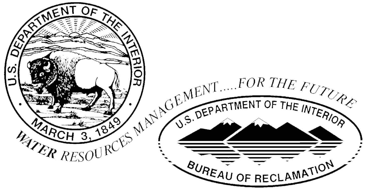 Reclamation Has Used Its Logo In Association With The Department Of The  Interior Seal In Various Design Formats Over The Years.