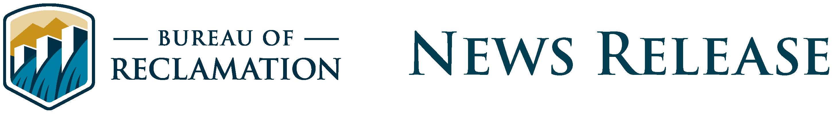 Bureau of Reclamation News Release Header