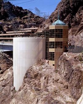 Hoover Dam Visitor Center and Parking Garage