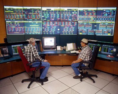 Hoover Dam Control Room