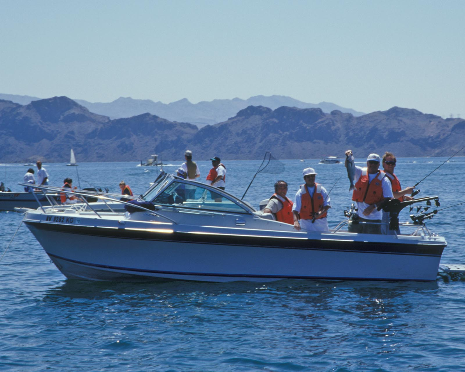 Hoover dam bureau of reclamation for Lake mohave fishing