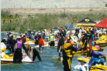 Personal watercraft races