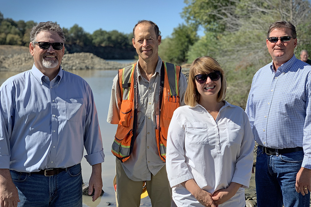 Lower American River partnership (USBR photo by Brionna Ruff)