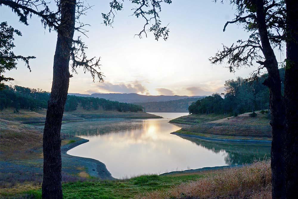 Photograph of Lake Berryessa