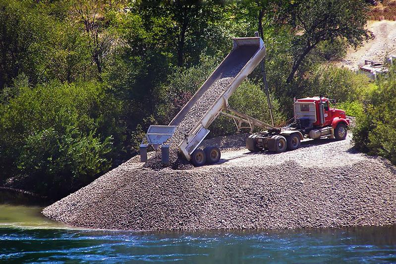 Sac River fish habitat restoration, 2021