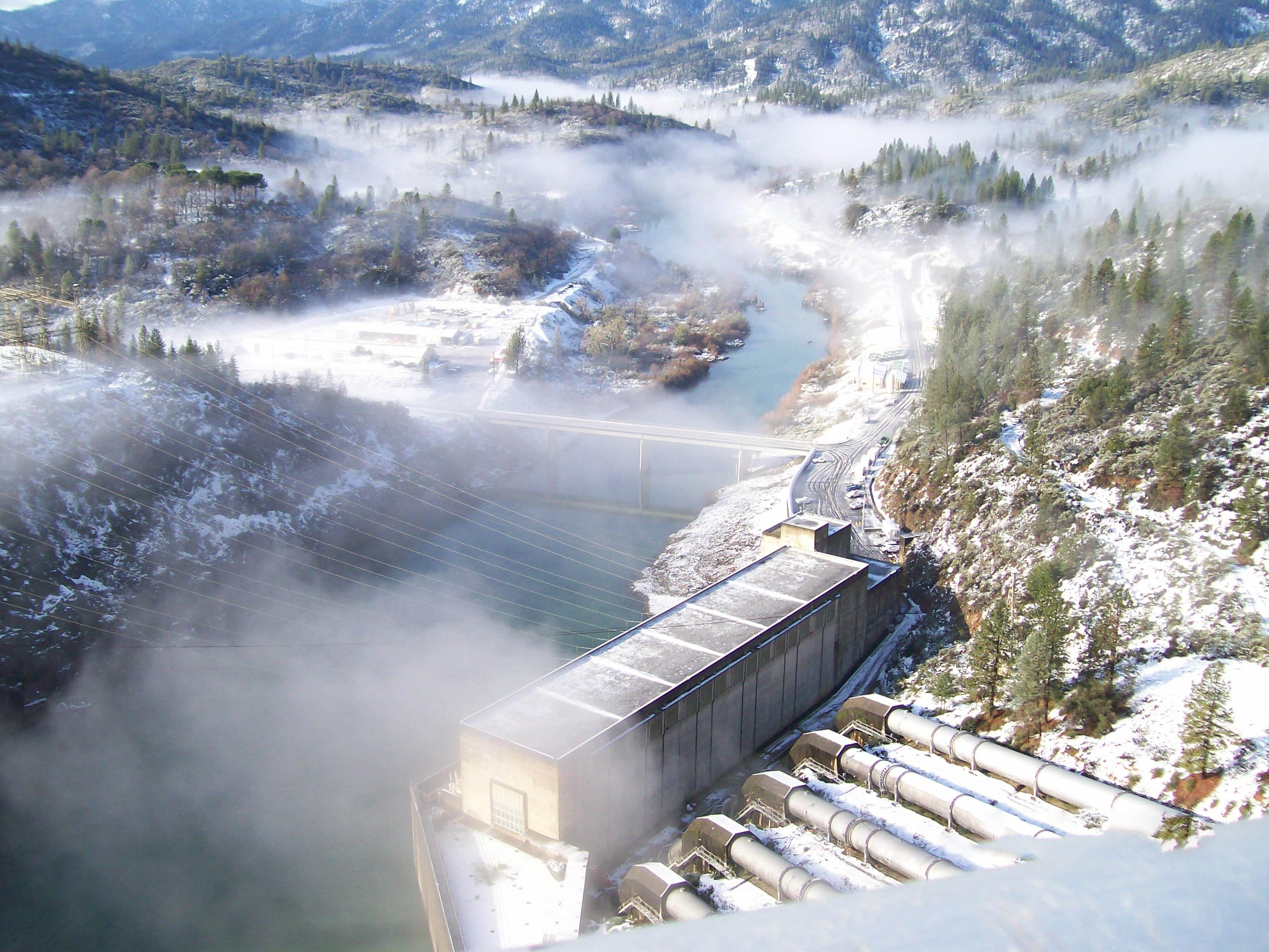 Shasta Dam hydropower