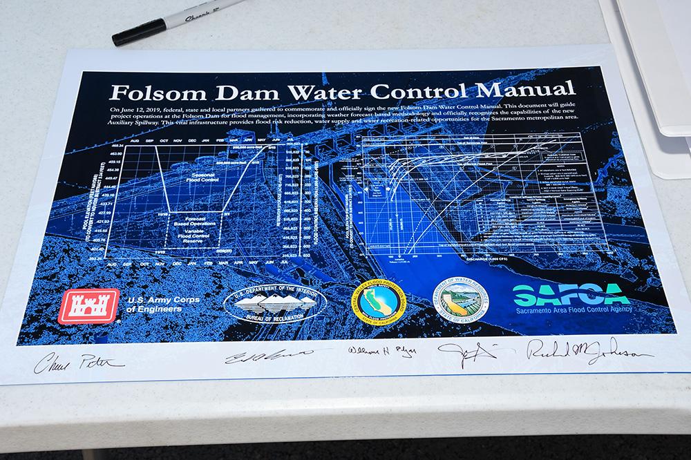 Souvenir manual signed by partner agencies