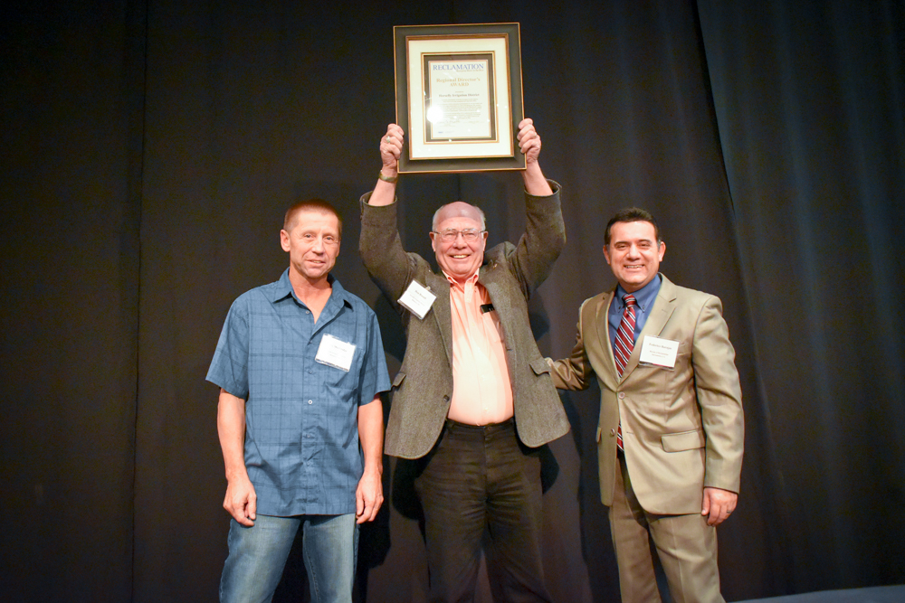 Horsefly Irrigation District recognized with MP Region water conservation award in Reno, Jan. 18, 2018