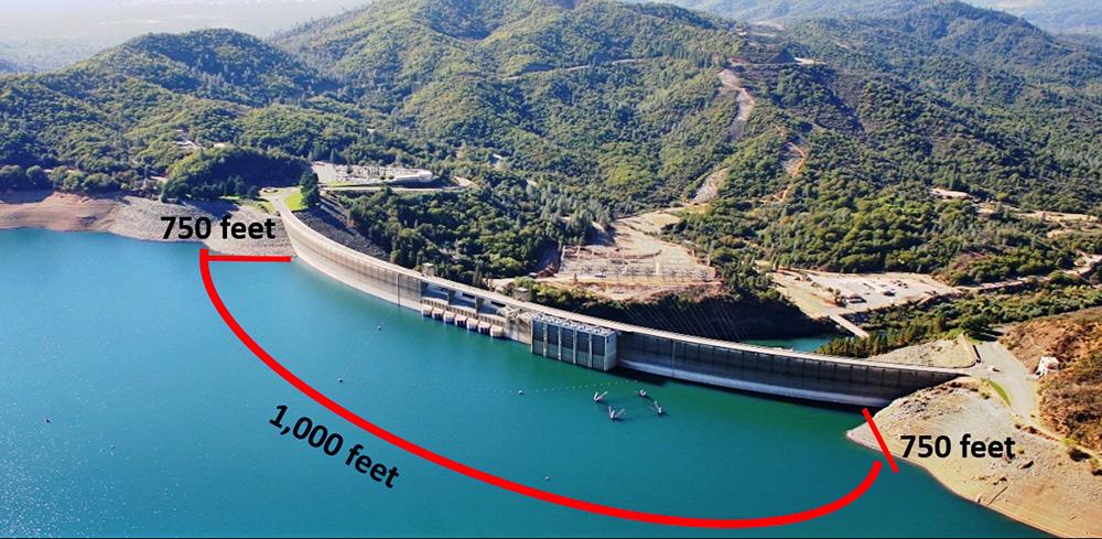 shasta dam northern california area office bureau of reclamation