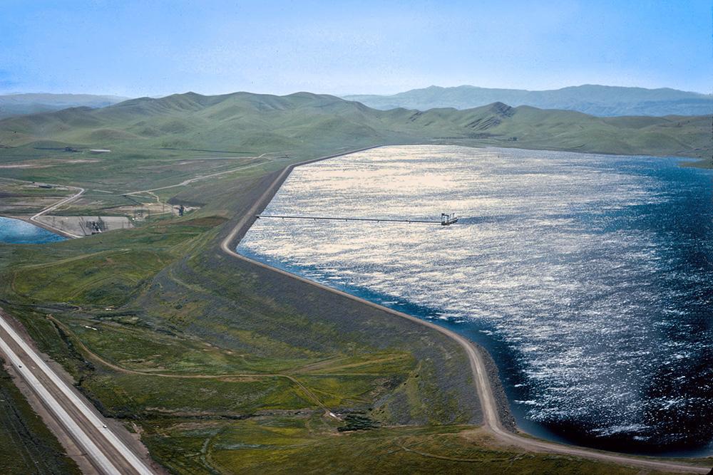 B.F. Sisk Dam and San Luis Reservoir