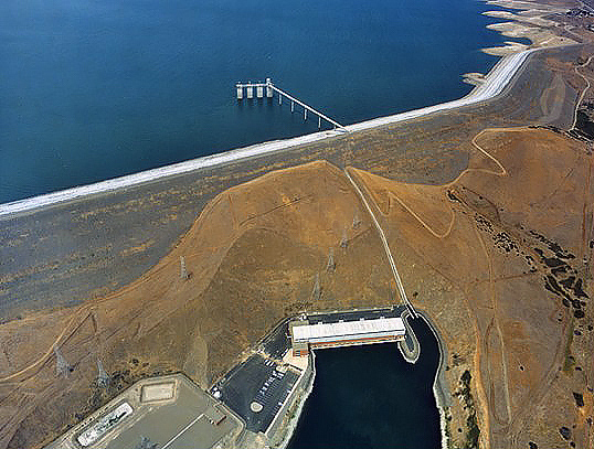 B.F. Sisk Dam (also known as San Luis Dam)
