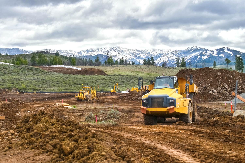 Boca Dam construction