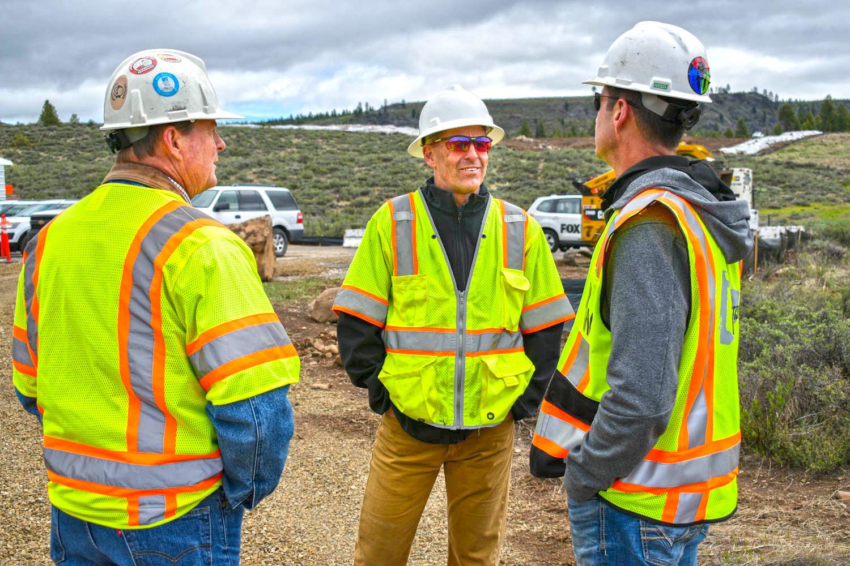 Boca Dam construction managers