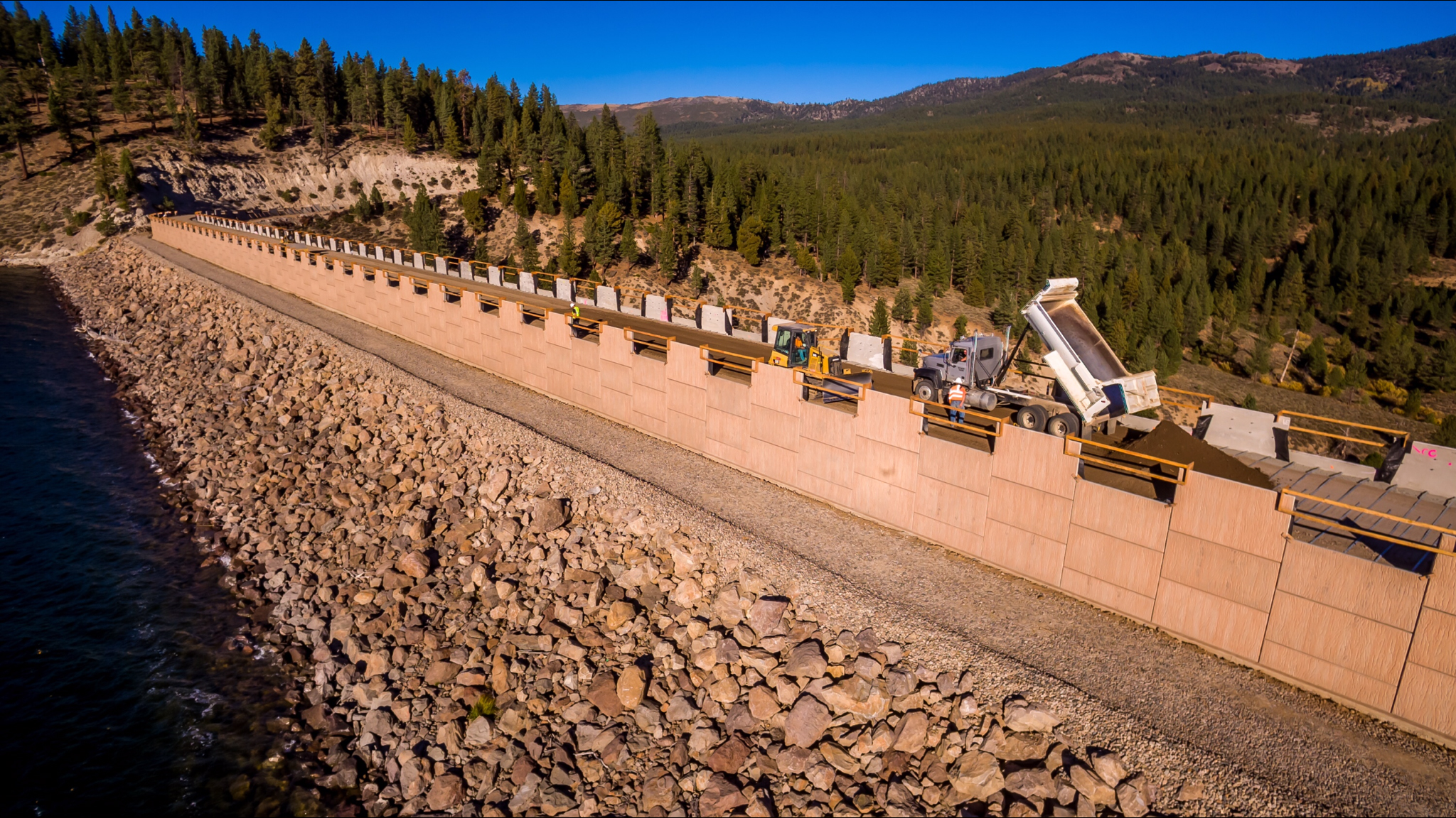Stampede Dam | MP Region Dams in the Safety of Dams Program | Safety