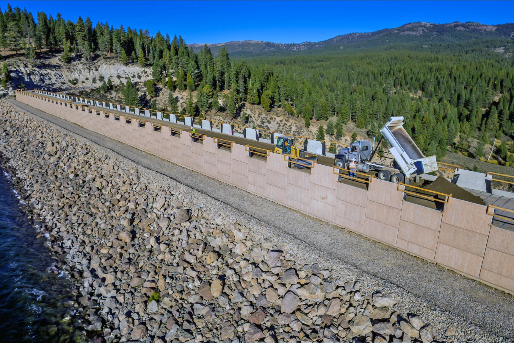 Stampede Receives Safety Of Dams Modification Project Asce