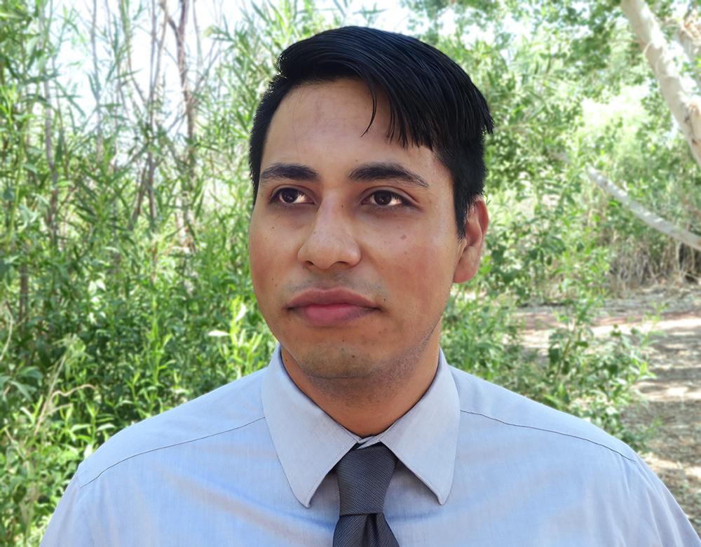 Noe Santos, 2017 recipient of the American Society of Civil Engineers Young Government Civil Engineer of the Year Award