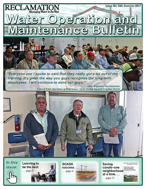 June issue of the Operation and Maintenance Bulletin.
