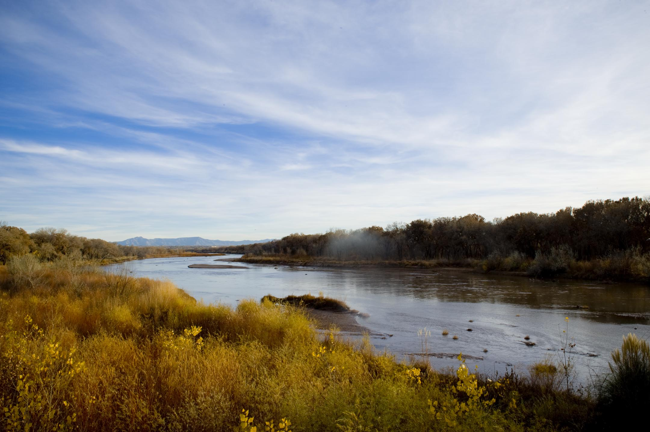 The Rio Grande in New Mexico.