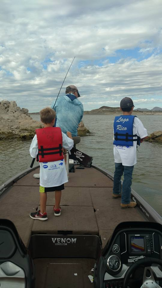 Local fishing experts taught C.A.S.T. for Kids participants the basics of fishing.