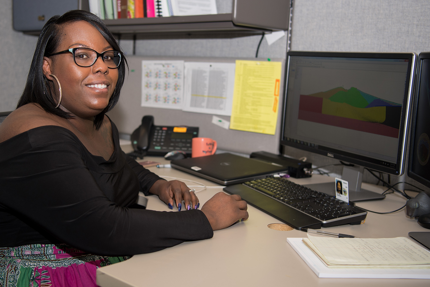 Candice Barnes, Geotechnical Engineer with the Bureau of Reclamation