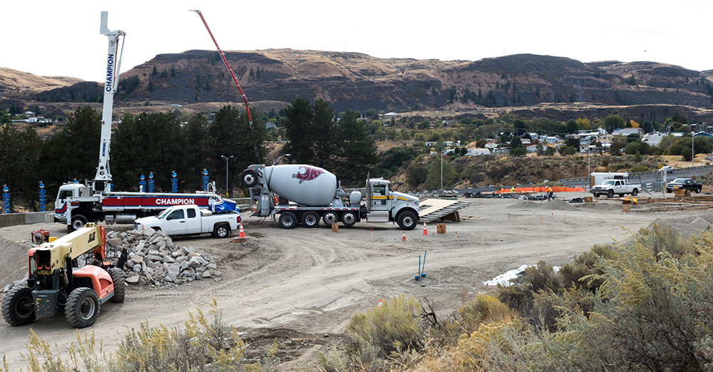 Innovative Construction & Design, Post Falls, ID. won the $13.6 million contract to build the Grand Coulee Dam fire station. Reclamation's PN Region spent $38.8 million from more than 500 small businesses transactions in 2017.
