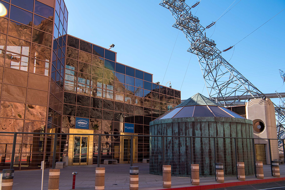 Photo of Hoover Dam Visitor Center.