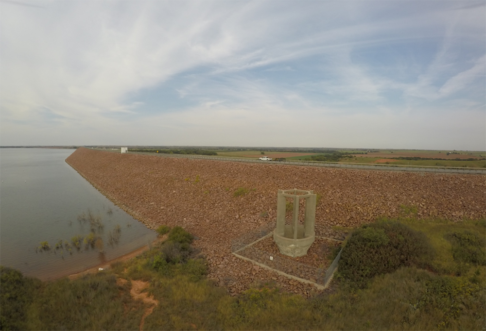 Foss Reservoir in Oklahoma