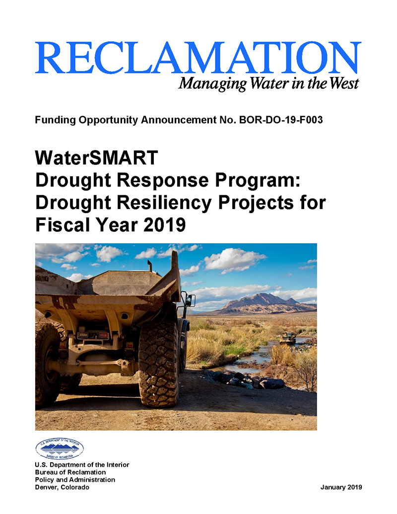Drought Funding Opportunity