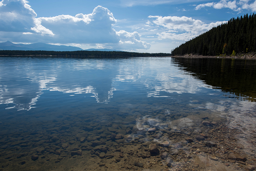 Improving sub-seasonal forecasts of temperature and precipitation will enable water managers to better prepare for shifts in hydrologic regimes, including at reservoirs like this one.