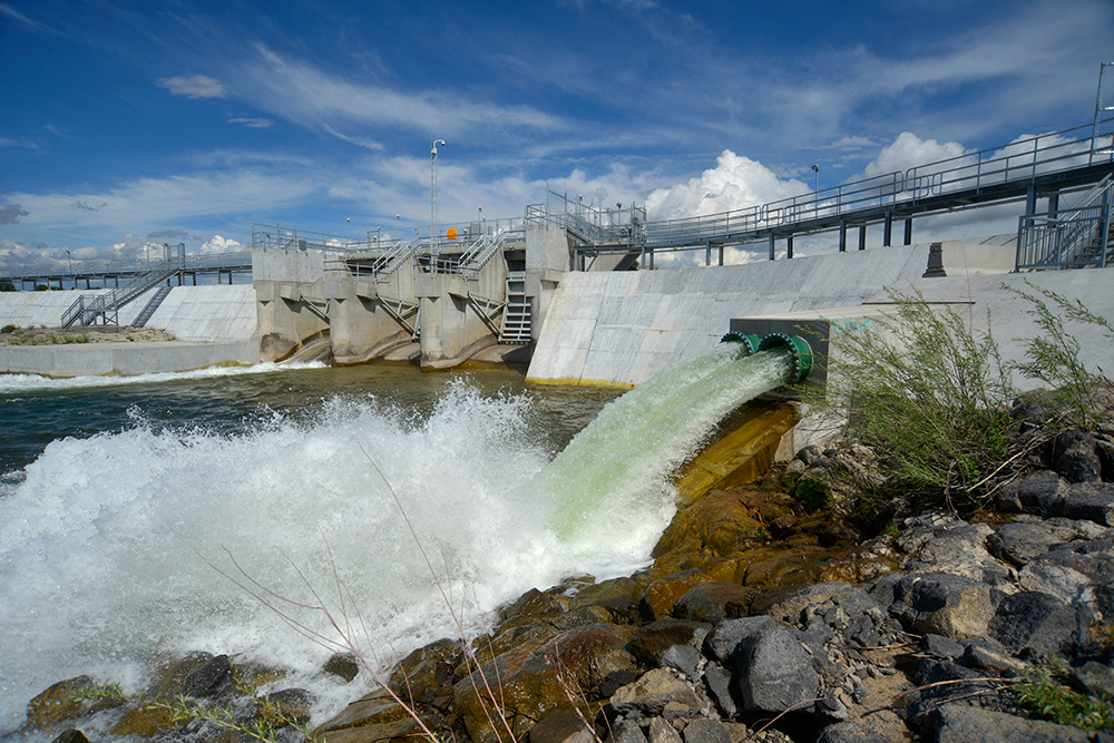 Steel on structures like the Minidoka Dam in Idaho could benefit from the results of this prize competition.