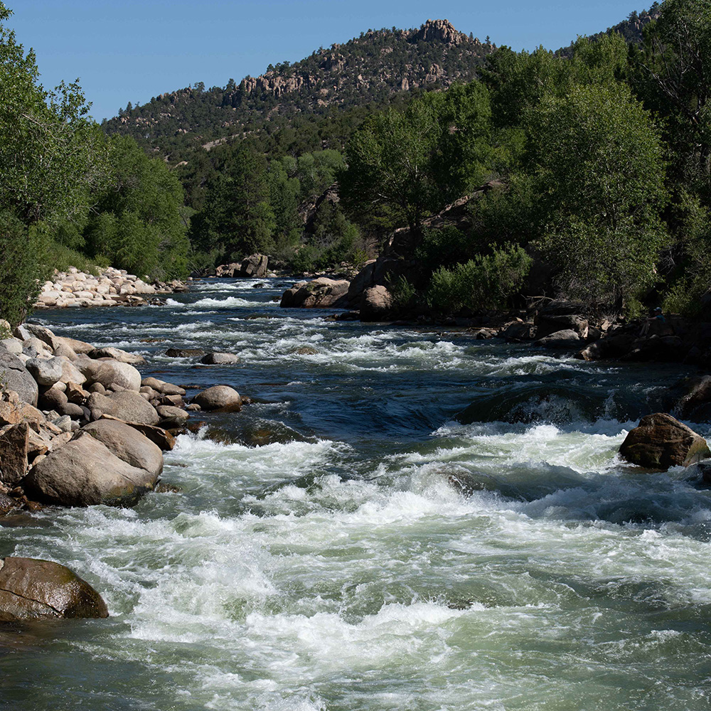 A river in the western United States.