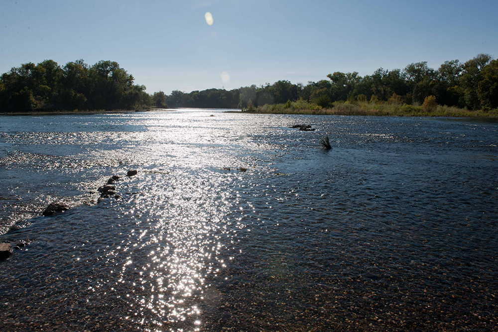 The American River in California. The El Dorado Water Agency will upgrade two sensors in a 12-sensor American River Hydrologic Observatory network