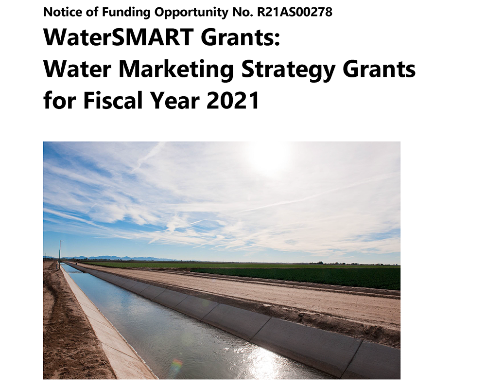 2021 Water Marketing Strategy Funding Opportunity