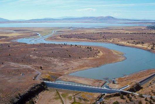 Klamath Project aerial view