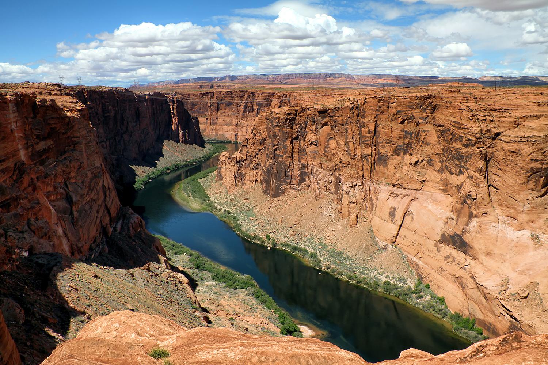 Colorado River scenic view