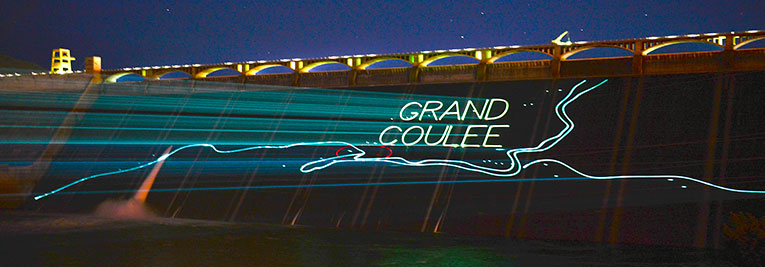 Visit grand coulee dam laser light show bureau of reclamation grand coulee dam visitor center publicscrutiny Gallery