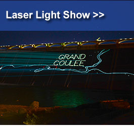 Visit grand coulee dam bureau of reclamation visitor center laser light show tours publicscrutiny Gallery