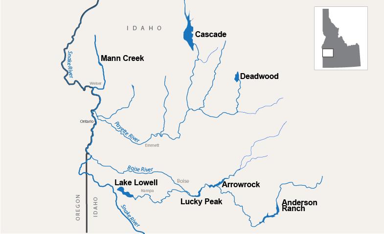 Hydromet Pacific Northwest Region | Bureau of Reclamation on