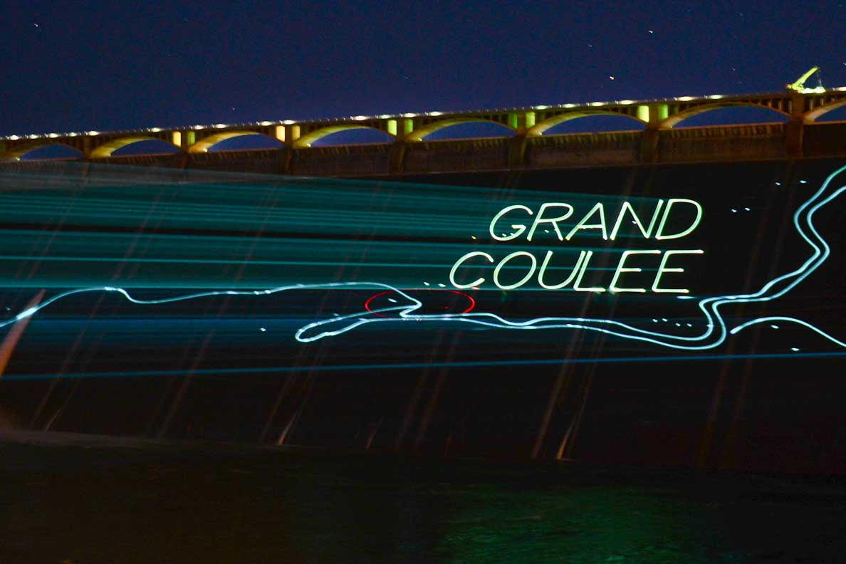 Grand Coulee Dam Laser Light Show