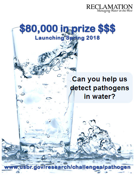 Image of pathogen prize competition poster.