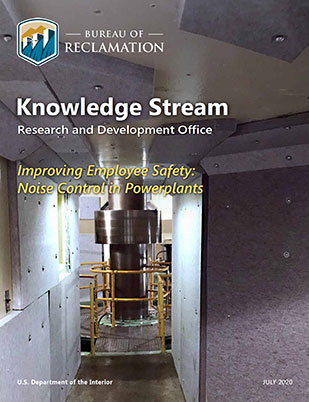 The cover of the knowledge stream on noise control.
