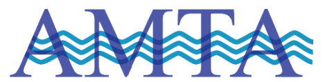 Logo for the American Membrane Technology Association (AMTA).