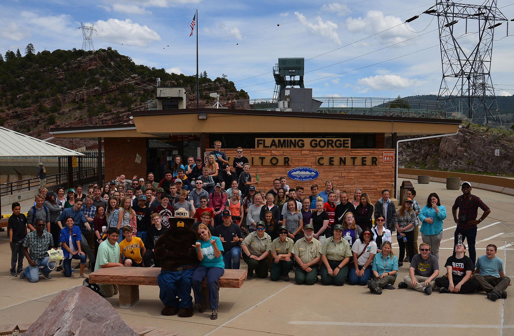Flaming Gorge Dam's 2019 STEM event with federal agencies