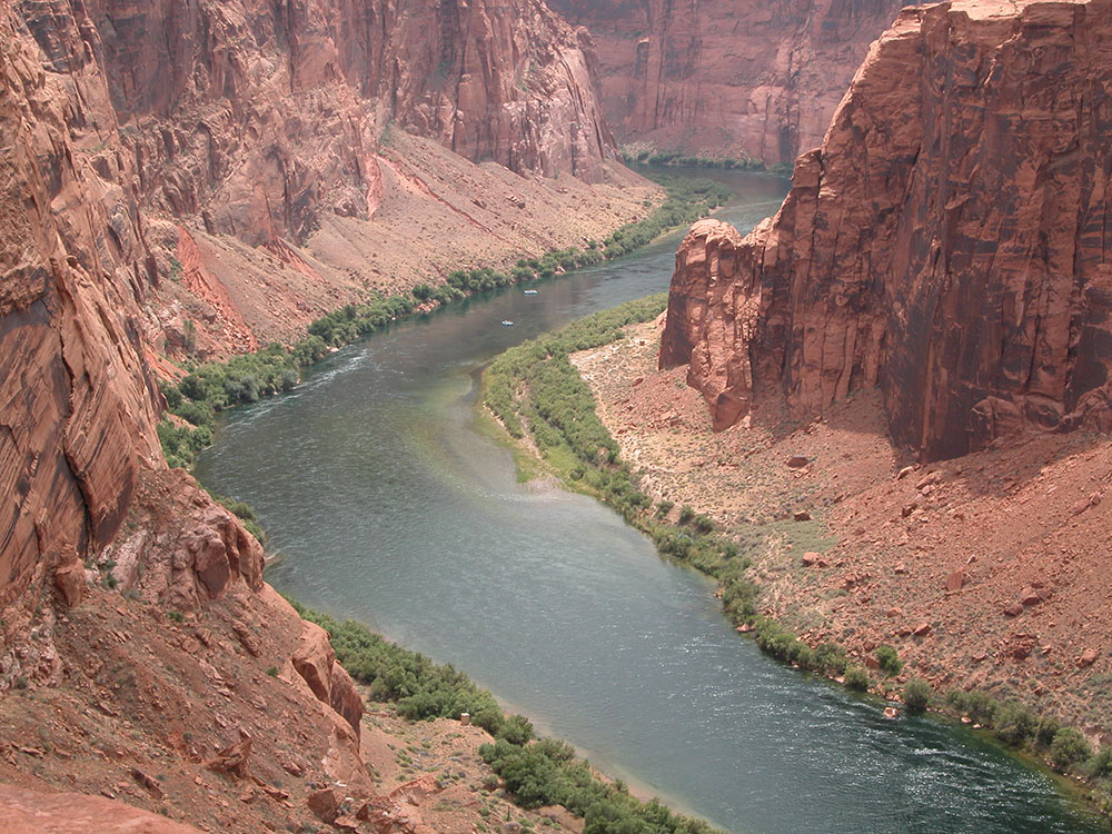 Colorado River down Lees Ferry