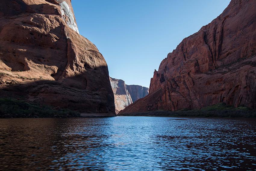 Photo: of the Colorado River in Arizona