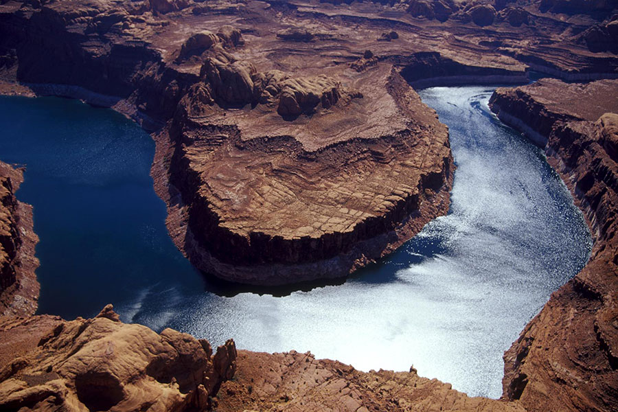 Colorado River above Lake Powell